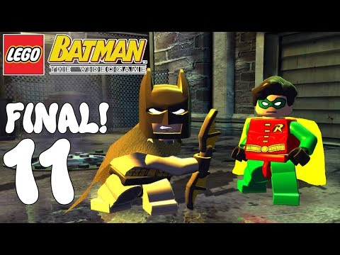 LEGO BATMAN! A REPARTIR BAT-COLLEJAS! Capitulo 11! FINAL!