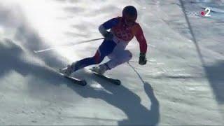 JO 2018 : Slalom géant. La journée en bronze d'Alexis Pinturault