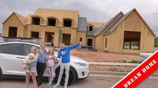 Our Dream Home Framing is DONE!