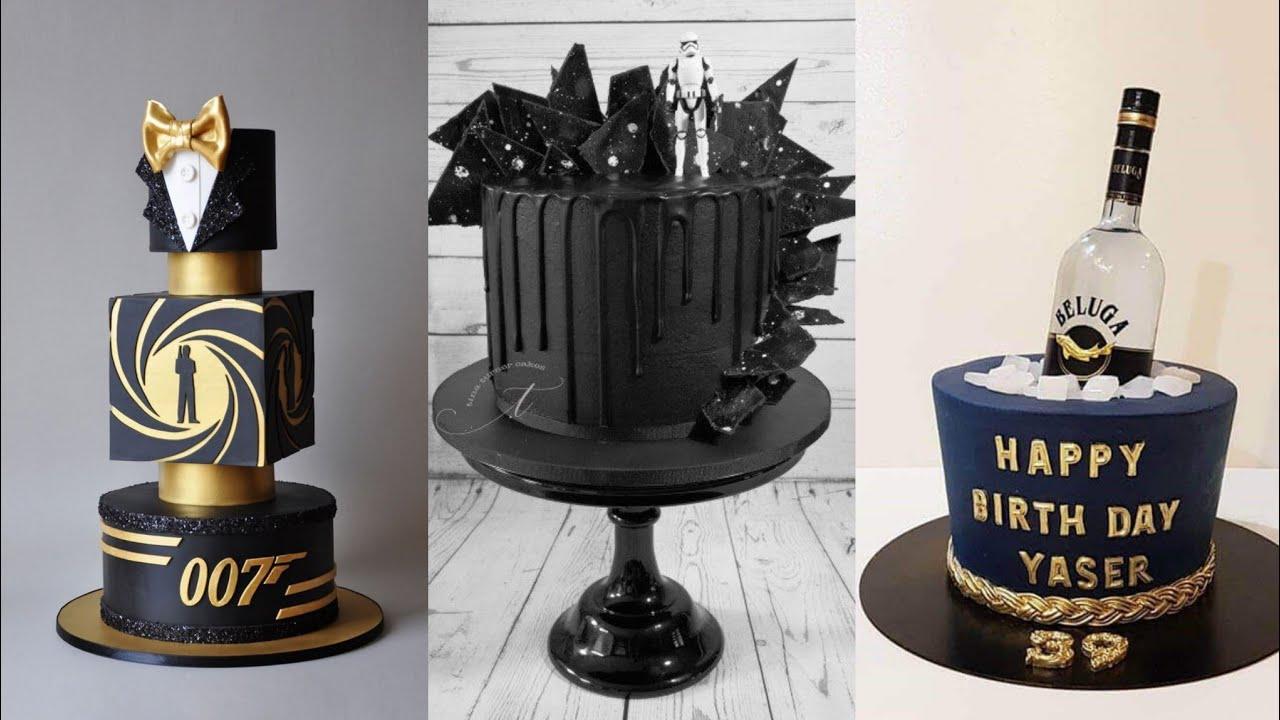 Unique Cake Designs For Men Birthday Party Stylish Cake Decoration Ideas Kashmirian S Art Youtube
