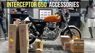 Royal Enfield Interceptor 650/GT 650 Official Accessories