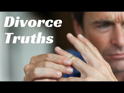 Divorce Facts Men Need To Hear...