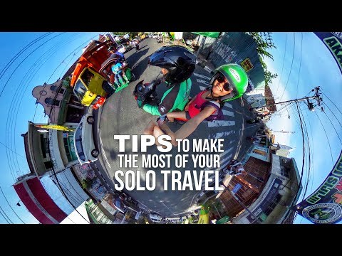 TIPS to make the most of your SOLO TRAVEL - Yogyakarta Indonesia