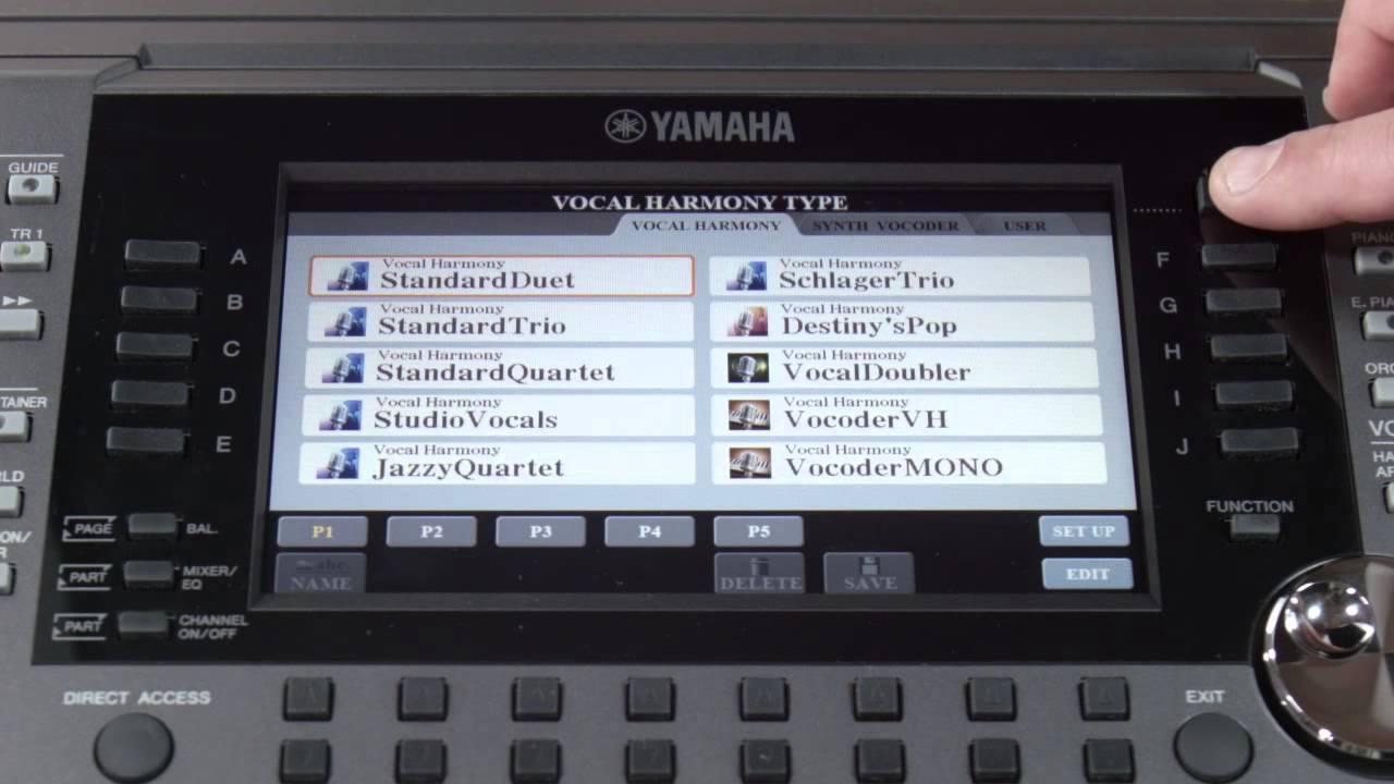PSR-S975 - Audio & Video - Arranger Workstations - Keyboard