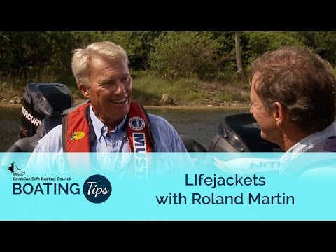 Lifejackets with Roland Martin