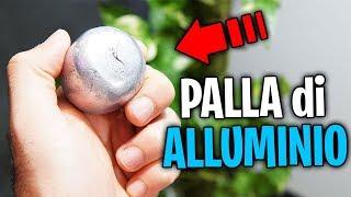 LA PALLINA FATTA DI CARTA STAGNOLA! (Aluminium Foil Ball)