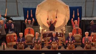 第30回松本城太鼓祭り 愛知県豊丘高校和太鼓部①.