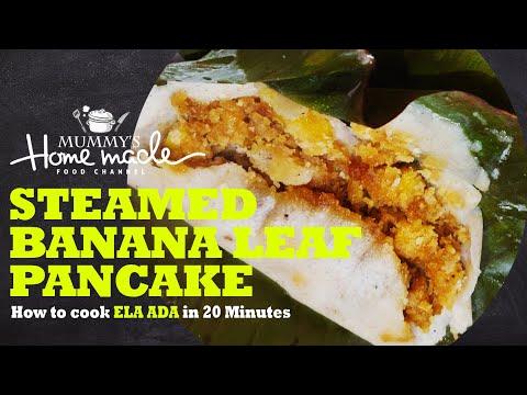 How to make ela ada | steamed banana leaf pancake | easy and quick recipe | recipe #4 mp3