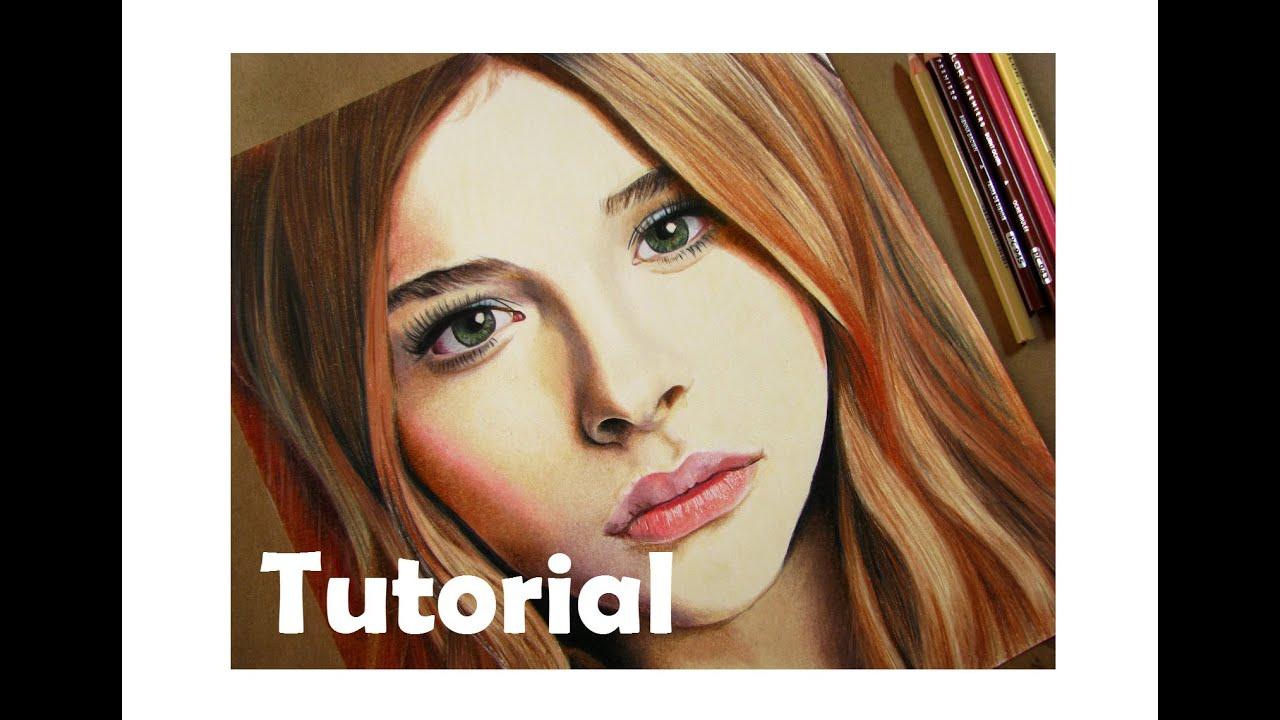Como Dibujar Y Pintar Facil El Rostro De Una Mujer De: Cómo Dibujar Un Rostro Con Colores