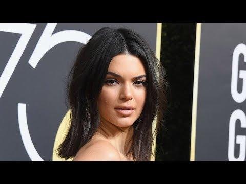 Kendall Jenner SHUTS DOWN 2018 Golden Globes Acne Shamers