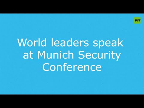 World leaders speak at Munich Security Conference special edition