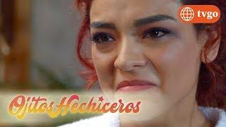 ¡Sabrina reveló sus verdaderas intenciones a Doña Luchi! - Ojitos hechiceros 26/04/2018