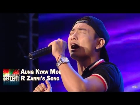 "Aung Kyaw Moe Sings R Zarni's song ""Koe Anar Shi Say Chin"" 