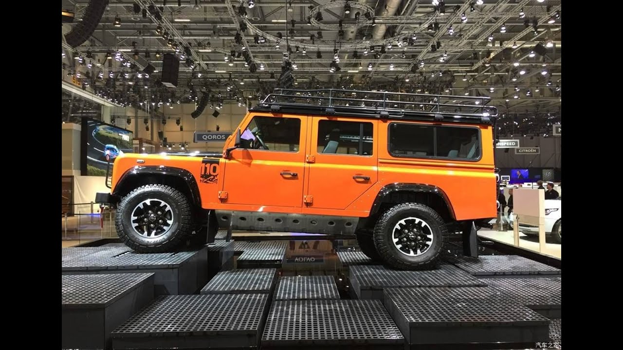 Defender 110 2018 >> 2018 Land Rover Defender Youtube