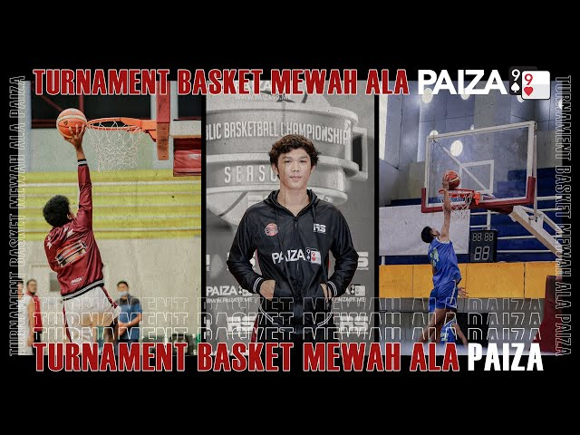 Kemeriahan Tournament Republic Basketball Competition Di Gor Gajahmada Batu | PAIZA99