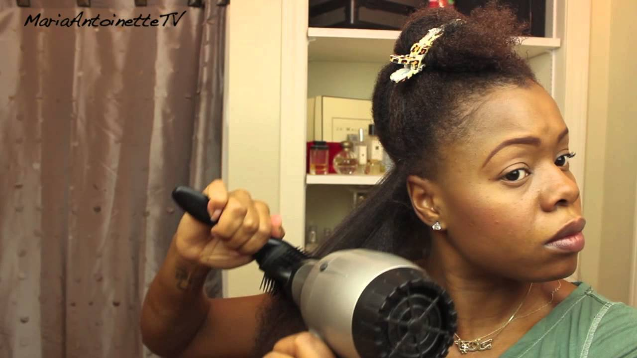blowout natural hair