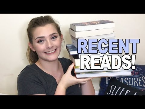 BOOKS I'VE READ RECENTLY!