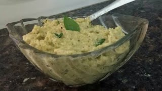 Coconut chutney...easy way to try it at home
