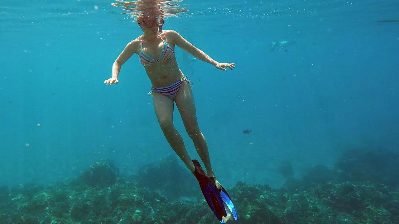 Snorkeling In Hawaii Youtube