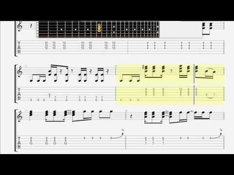 Cake   I Will Survive GUITAR 2 TAB