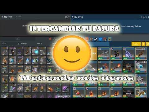 """Como Intercambiar En """"tradeit.gg"""" Y """"cs.money"""" - Metiendo Mis Items - Dota 2"""
