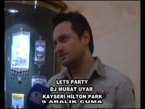 MURAT UYAR @ LETS PARTY @ KAYSERI HILTON PARK CLUB 09.11.2011