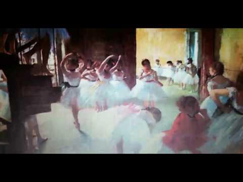 Art Commentary - Ballet School by Edgar Degas - Jose TRUJILLO