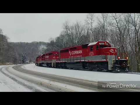 Rj Corman PA Lines corn train Feb 2018
