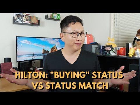 Hilton Status: Challenge Vs. Cards (Amex Plat, Aspire, Ascend)