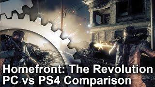 Homefront: The Revolution PC vs PS4 Graphics Comparison