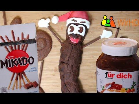 Rezept: Mr. Hankey Nutella Kekse der leckerer Weihnachtskot zum selber machen, Scheiße essen