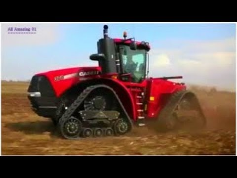 World Amazing Heavy Agricultural Farming Machines Modern Tractors, Exvacators Intelligent  Machine