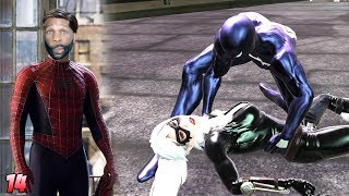 Spider-Man: Web of Shadows Walkthrough Gameplay Part 14 - Symbiote Black Cat