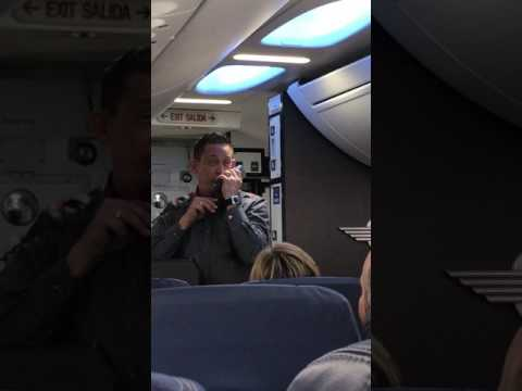 Hilarious Southwest Flight Attendant Emergency Briefing and Demo