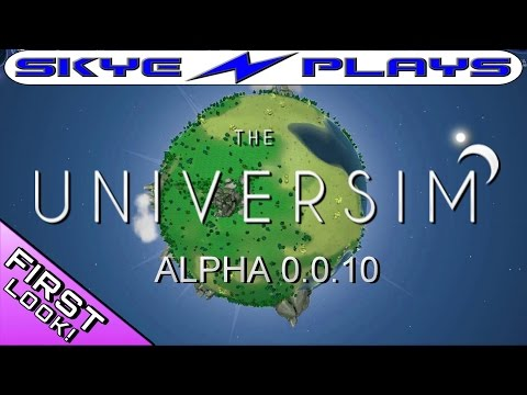 The Universim Alpha v0.0.10 ►ZOMBIES NOT INCLUDED◀ First Look/Gameplay