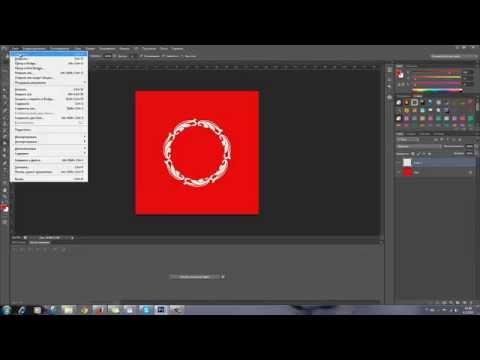 Как создать круглую рамочку из кружева