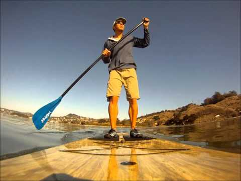 SUP ing at Larkspur Landing California, LPC Wet Woody Sport