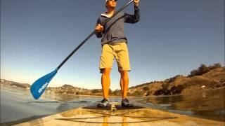 SUP ing at Larkspur Landing California, LPC Wet Woody Sport