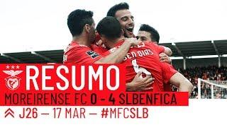 HIGHLIGHTS: Moreirense FC 0-4 SL Benfica