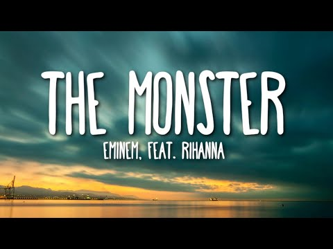 Eminem Ft. Rihanna - The Monster (Lyrics) 🎵