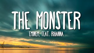 Eminem ft. Rihanna - The Monster (Lyrics) 🎵