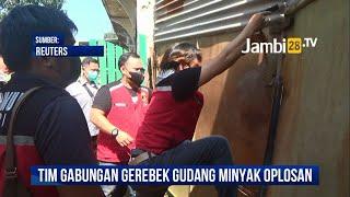 Tim Gabungan Grebek Gudang Minyak Oplosan di Jambi