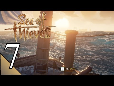 Sea Of Thieves 7 Multiplayer:  Sloop Of War Assaulting Other Ships!  Let's Play Gameplay