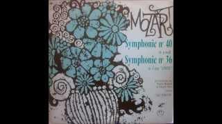 Mozart: Symphony no. 40 (Schuricht - 1964 - Vinyl LP)