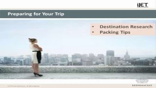 Female Travel Security Webinar