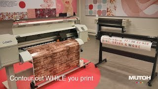 Mutoh Print & Cut Dual Device Solution