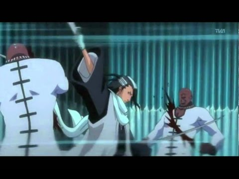 Byakuya Kuchiki vs Zommari Rureaux Full Fight Eng Dub