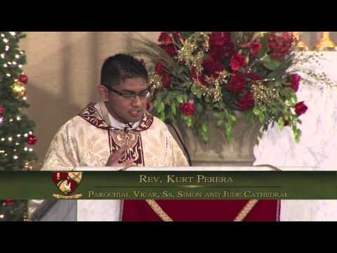 Homily for the Feast of the Holy Family, Dec. 29, 2013