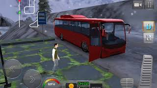 Bus Driver 3D: Hill Station Android Gameplay