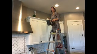 Decorating Above Cabinets - Tuesday Design Tips